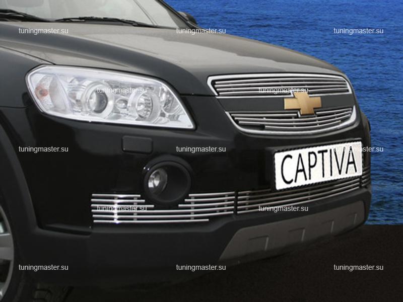 Декоративный элемент воздухозаборника Chevrolet Captiva Ø10