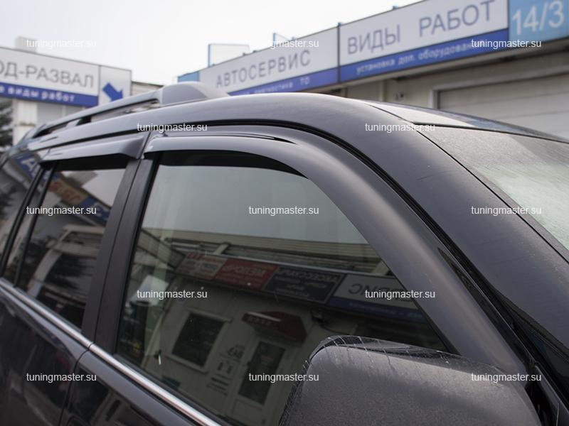 Дефлекторы боковых окон Toyota Land Cruiser Prado 150
