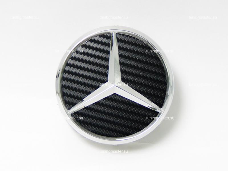 Заглушка колесных дисков Mersedes Benz карбон