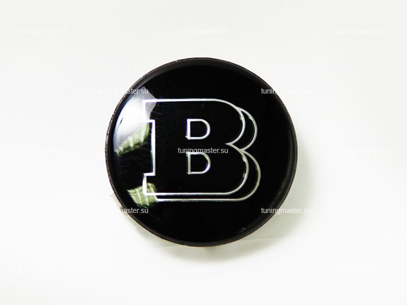Заглушка колесных дисков Mersedes Benz с логотипом Brabus (4шт.)