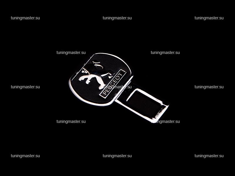 Заглушка ремня безопасности с логотипом PEUGEOT