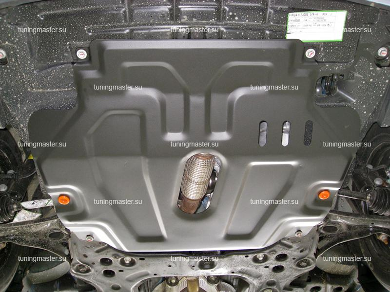 Защита картера и КПП Chevrolet Aveo T300