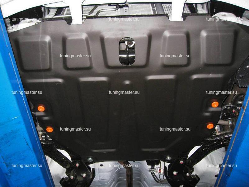 Защита картера и КПП Hyundai Accent