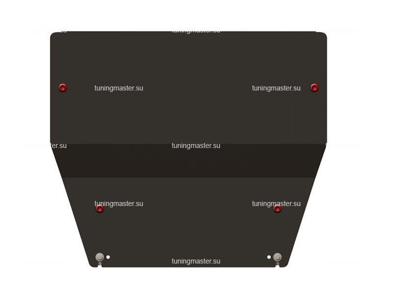 Защита картера и КПП Peugeot 407