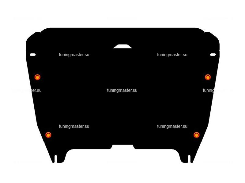 Защита картера и КПП Toyota Camry XV40