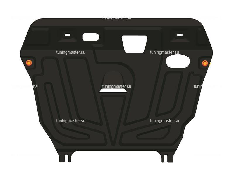 Защита картера и КПП Toyota Corolla E140