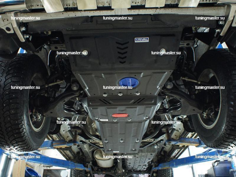 Защита картера Lexus GX460 (часть 1)