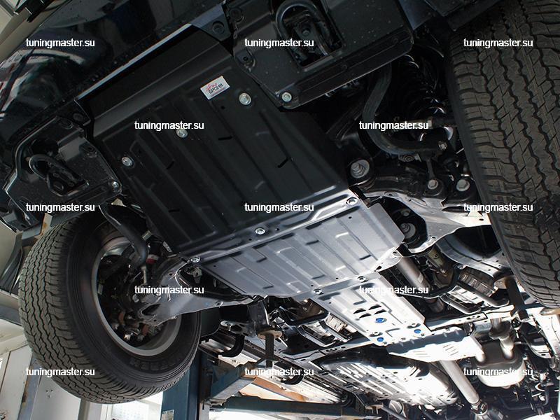 Защита картера Toyota Land Cruiser 200 (часть 1)