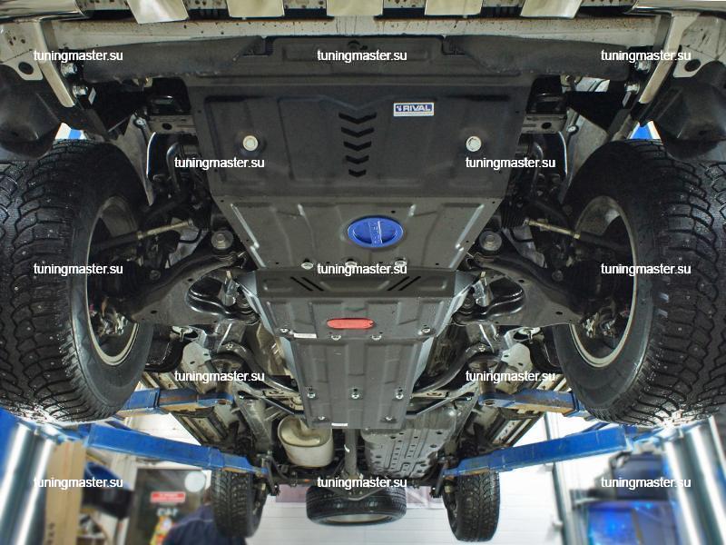 Защита картера Toyota Land Cruiser Prado 150