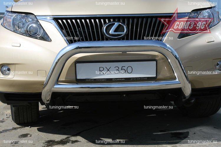 Кенгурин низкий LexusRX 350 Ø60/60 с перемычкой