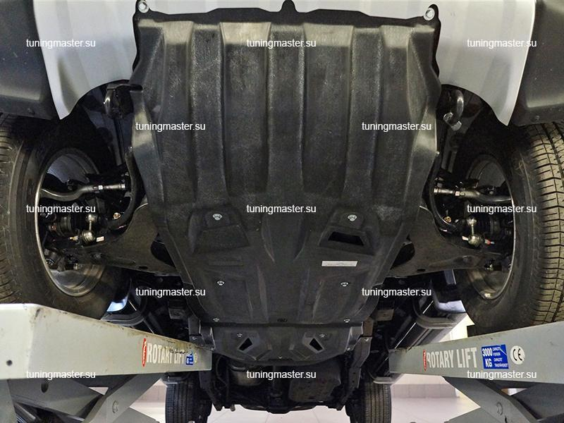 Композитная защита картера Mitsubishi Pajero Sport