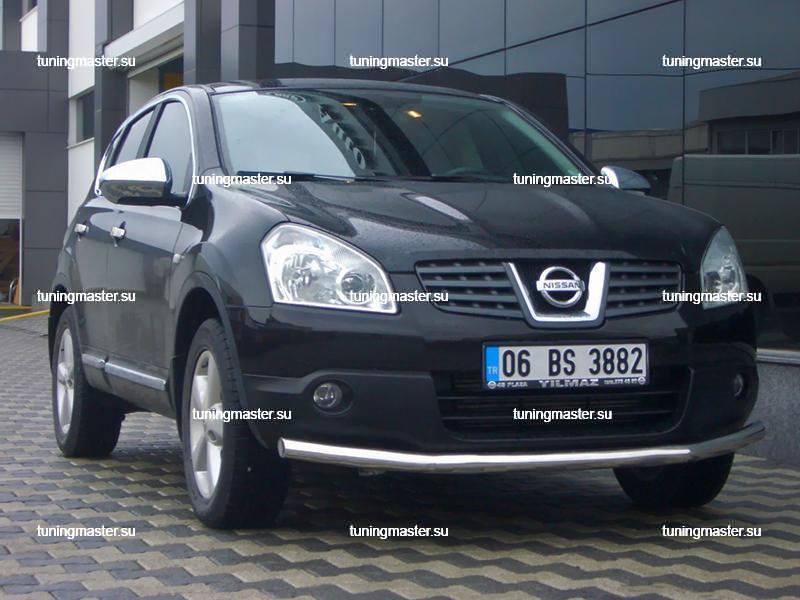 Накладки на зеркала Nissan Qashqai J10