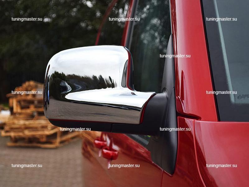 Накладки на зеркала Volkswagen Transporter T5 (пластик)
