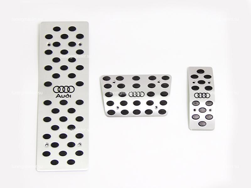 Накладки на педали для Audi Q5 с логотипом AUDI