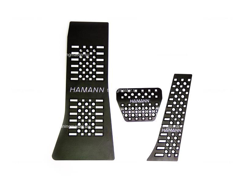 Накладки на педали для BMW с логотипом HAMANN (Original Style)