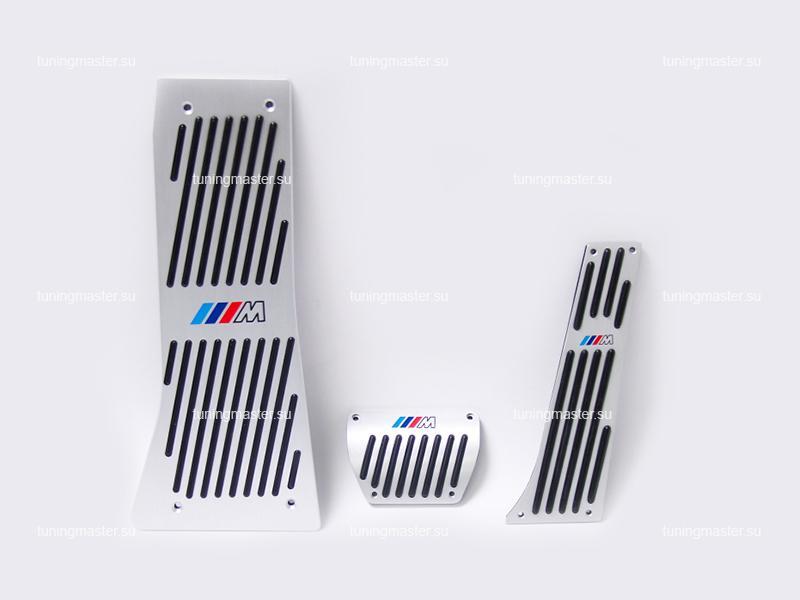 Накладки на педали BMW с логотипом M