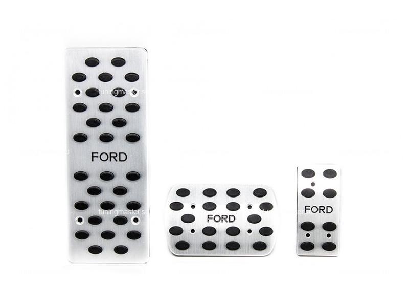 Накладки на педали с логотипом Ford (универсальные)