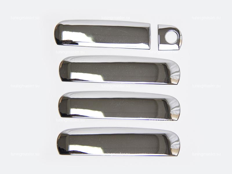 Накладки на ручки дверей Audi A6