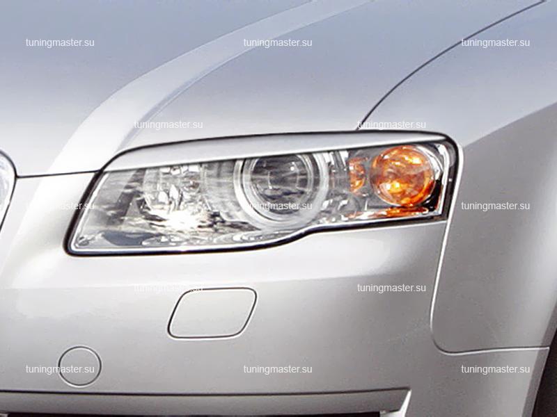 Накладки на фары Audi A4