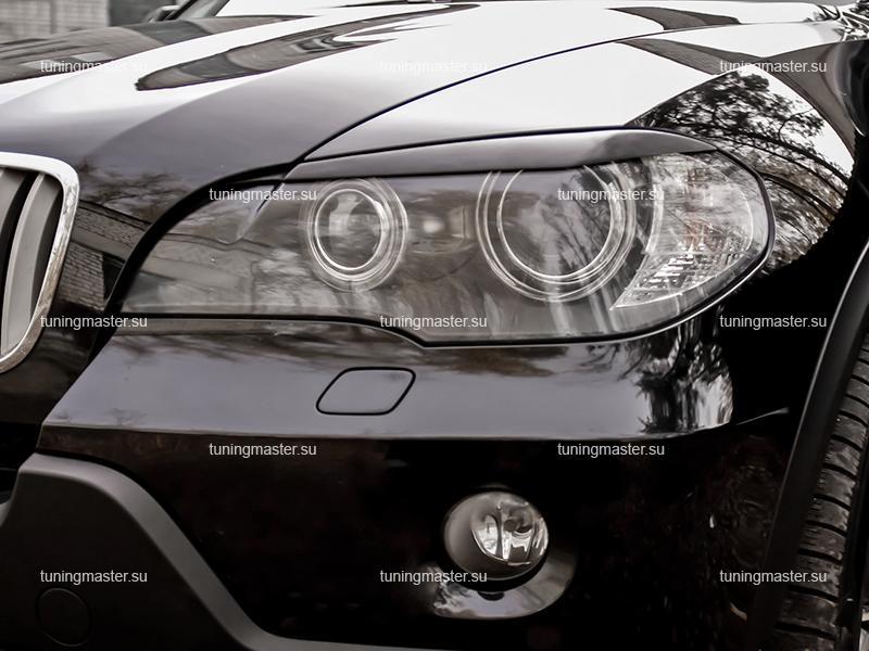 Накладки на фары BMW X5