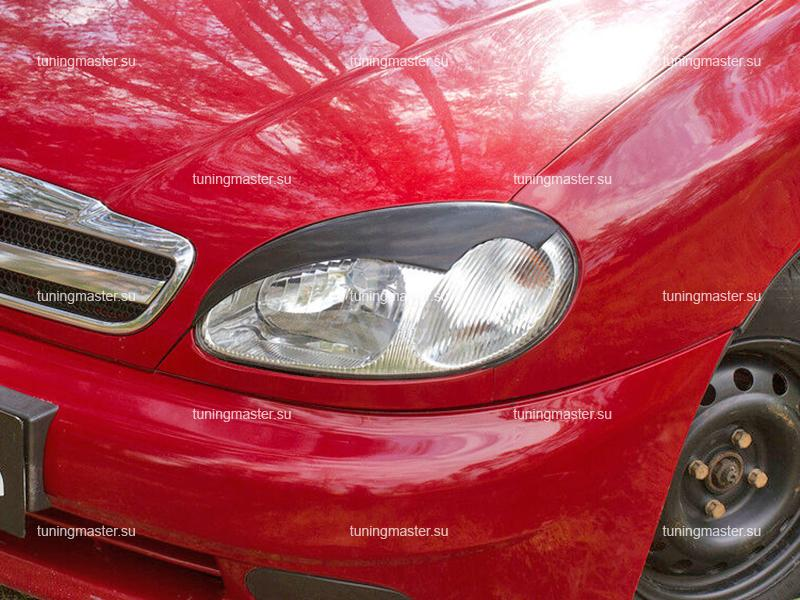 Накладки на фары Chevrolet Lanos