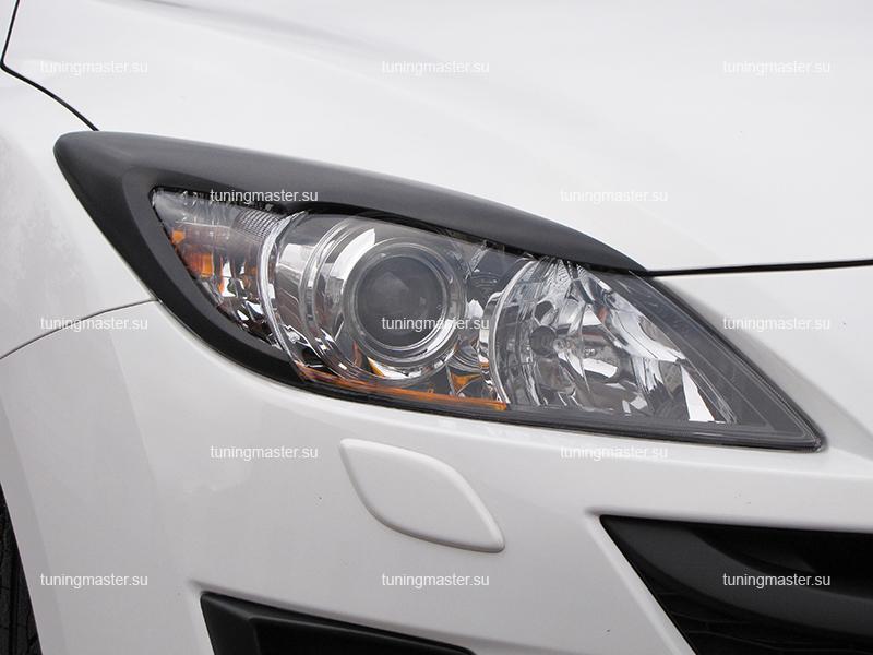 Накладки на фары Mazda 3 BL