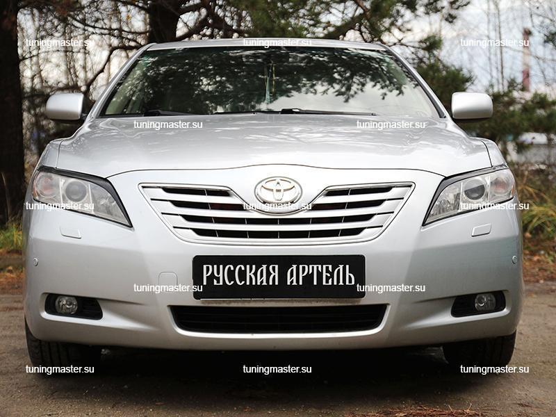 Накладки на фары Toyota Camry V40 (дорестайлинг)