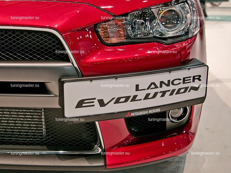 Подиум номера Mitsubishi Lancer 10 (Evolution)