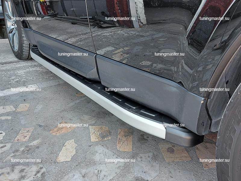 Пороги алюминиевые Range Rover Sport (Alyans)