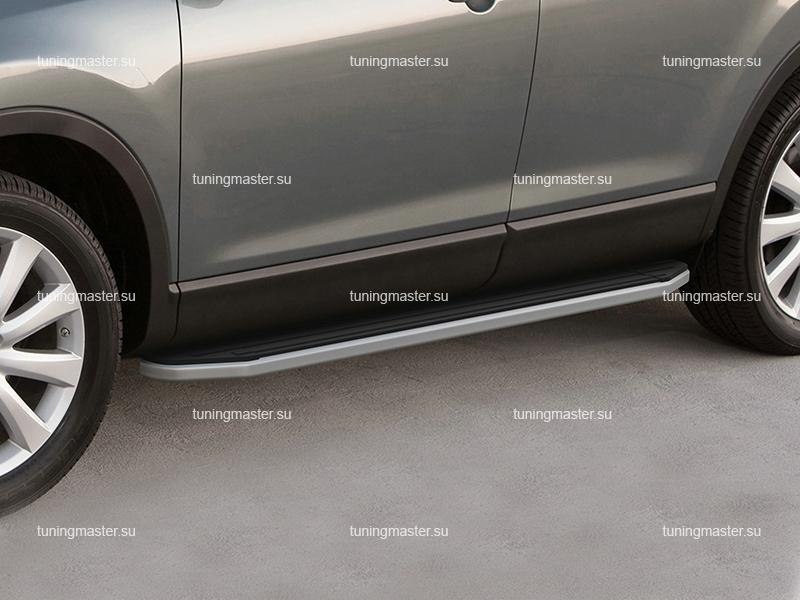 Пороги Subaru XV (Silver)