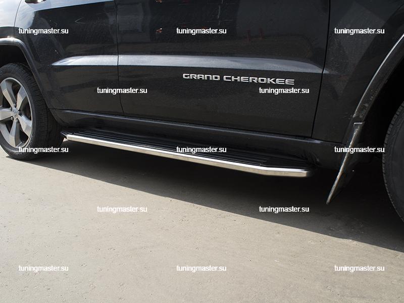 Пороги Jeep Grand Cherokee (Premium)
