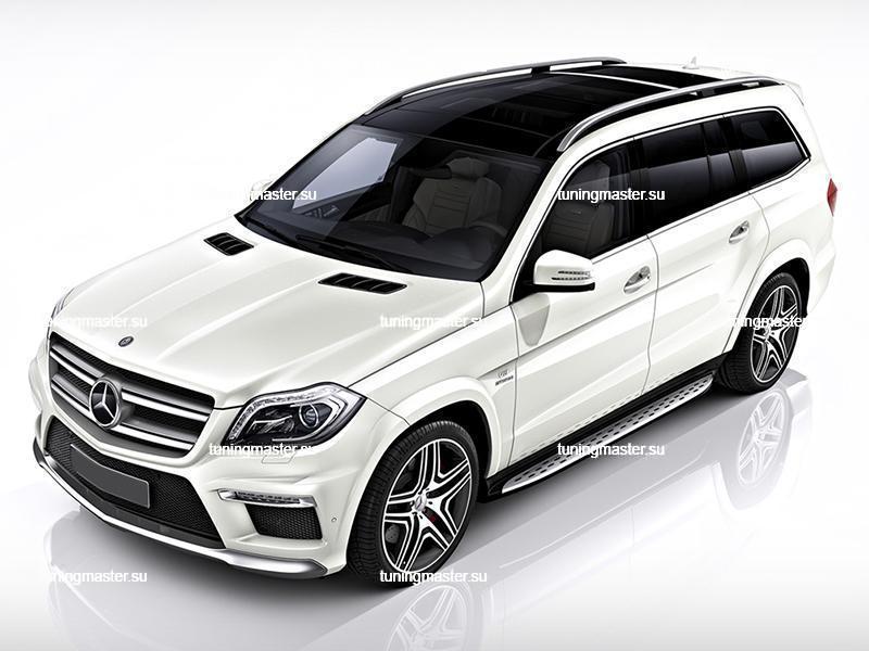 Пороги Mercedes Benz GL-166
