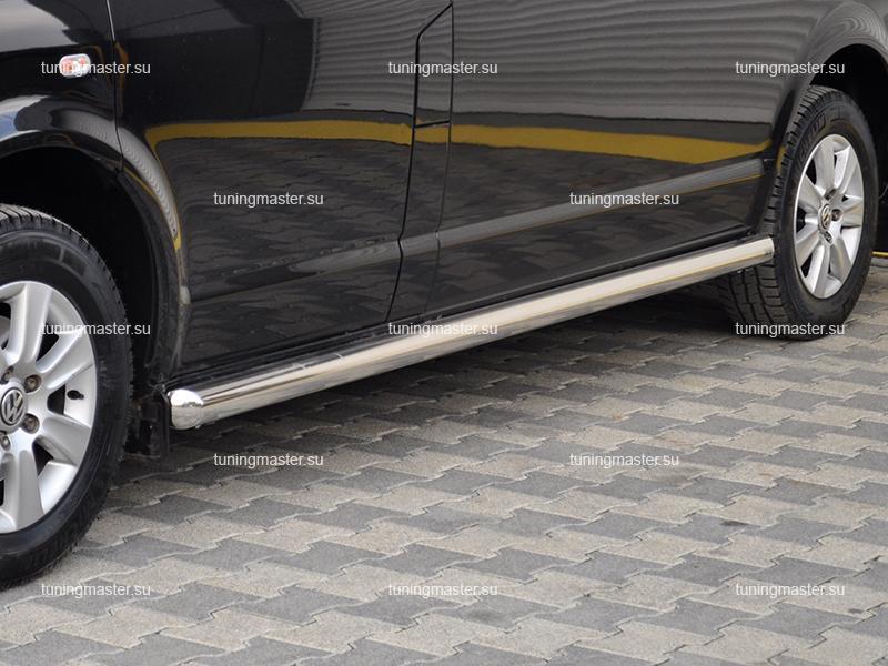 Защита порога Volkswagen Transporter T5 труба Ø60