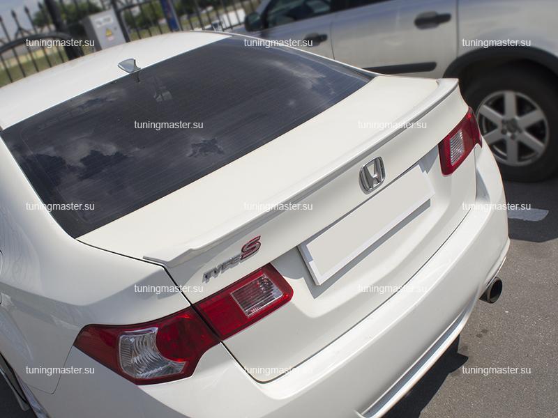 Спойлер на крышку багажника Honda Accord 8