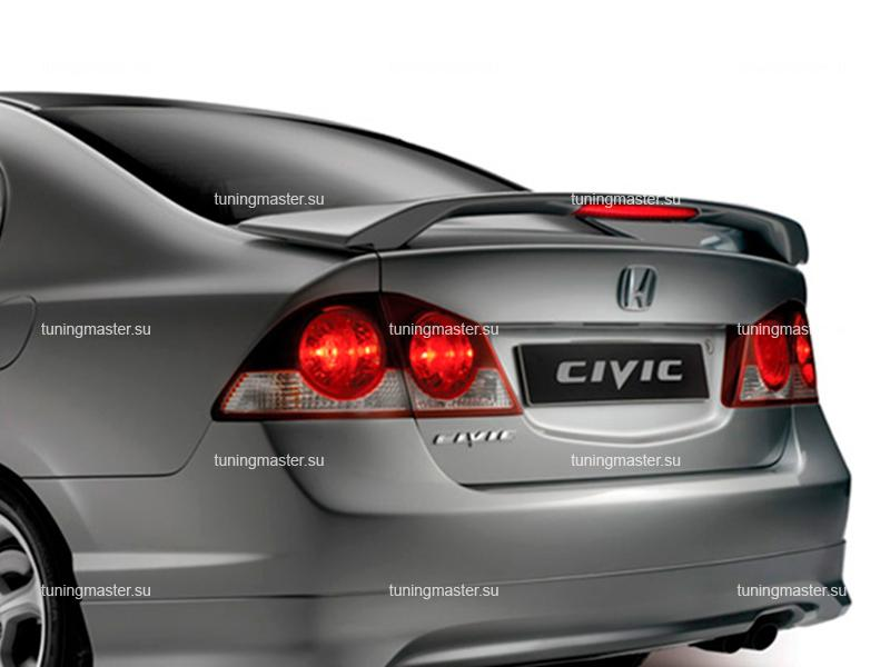 Спойлер на крышку багажника Honda Civic 4D (Modulo)