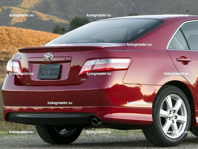 Спойлер на крышку багажника Toyota Camry V40 (Style Lexus)