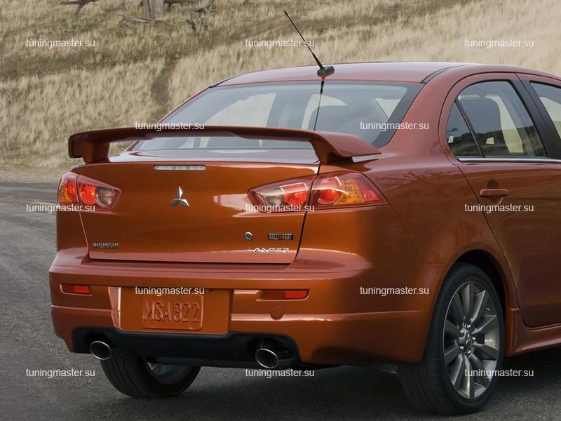 Спойлер на крышку багажника Mitsubishi Lancer 10