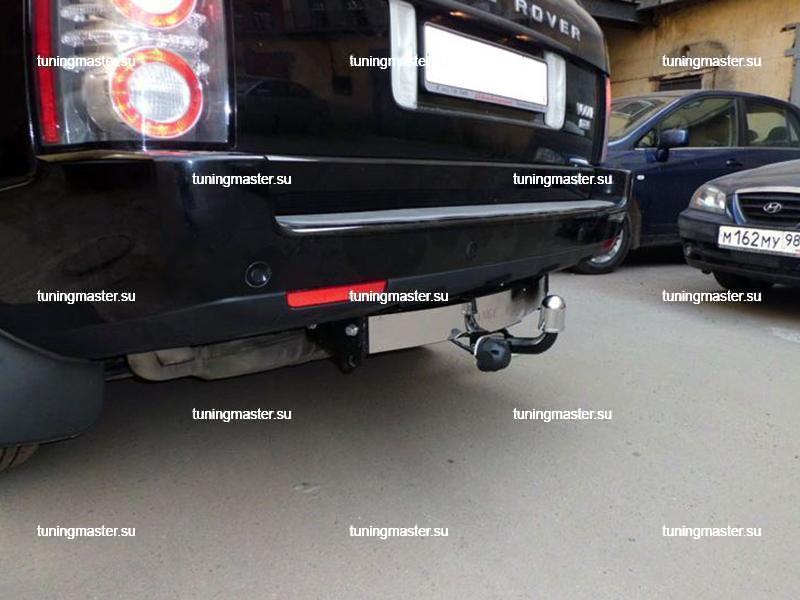 Фаркоп Range Rover Vogue с накладкой из нержавеющей стали