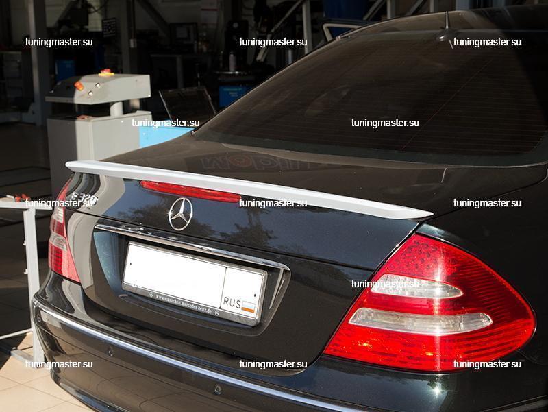 Спойлер на крышку багажника Mercedes Benz E-Classe W211