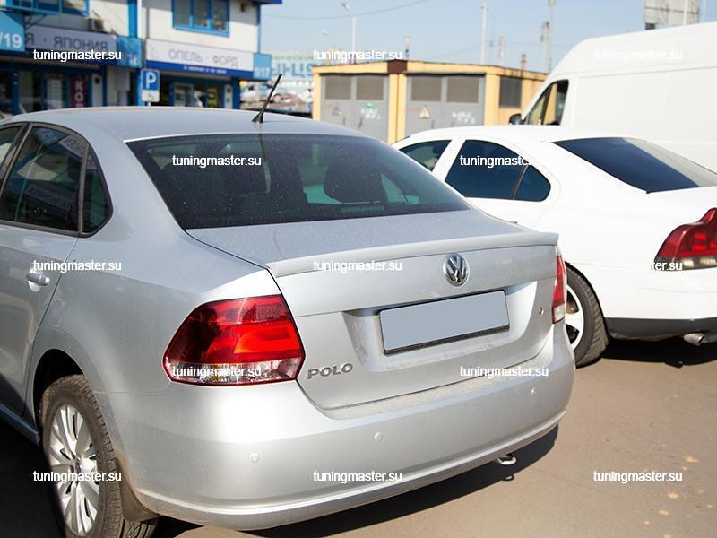 Спойлер на крышку багажника Volkswagen Polo
