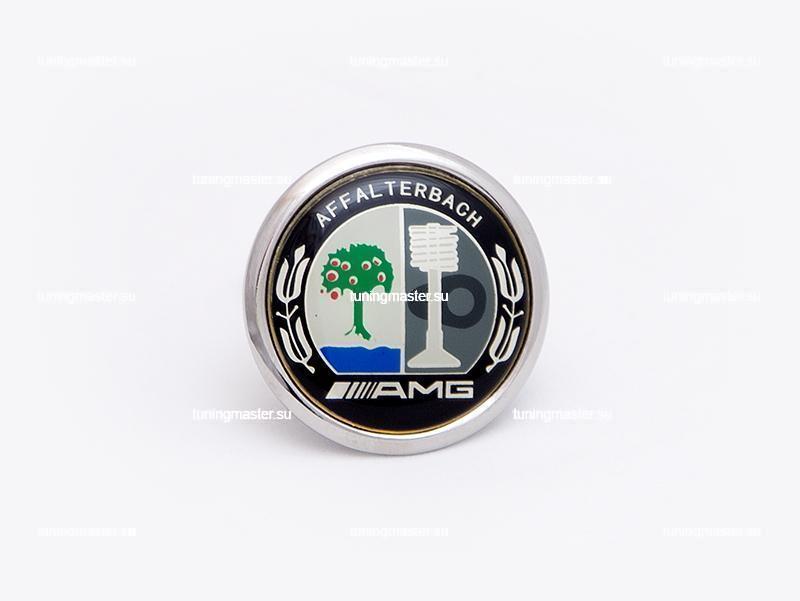 Эмблема на капот Mercedes Benz AMG