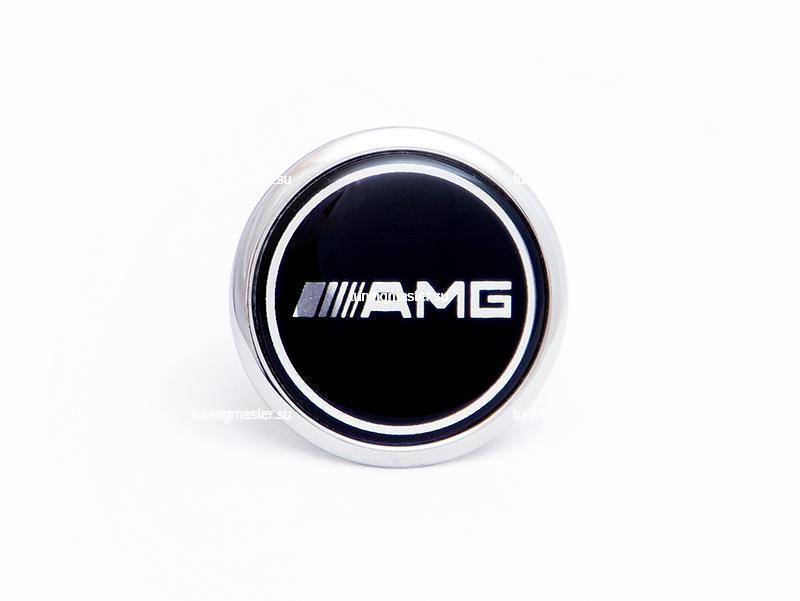 Эмблема на капот Mercedes Benz AMG Black