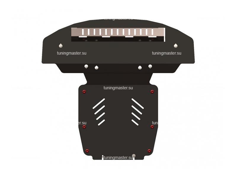 Защита картера и радиатора Audi Q7