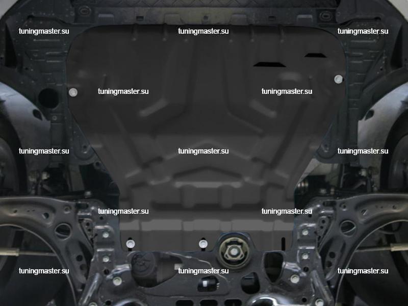 Защита картера и КПП Skoda Octavia A7