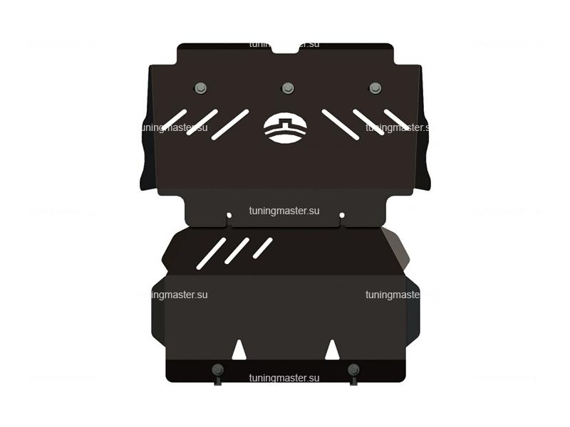 Защита картера Great Wall Hover H3
