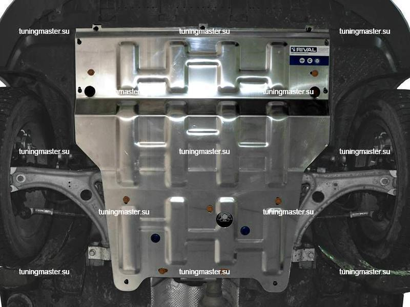 Защита картера и КПП Audi Q3 (алюминий)