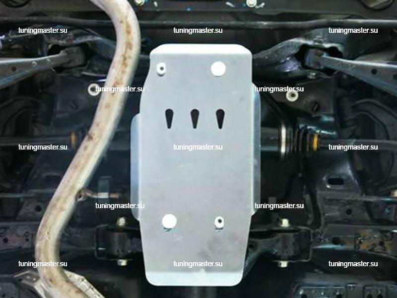 Защита заднего редуктора Subaru Forester (алюминиевая)