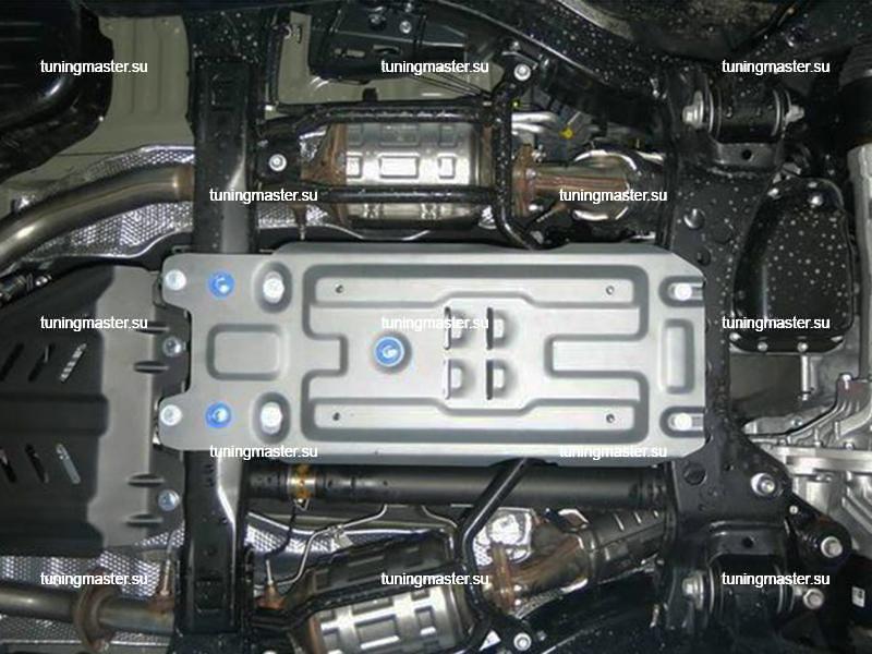 Защита коробки передач Toyota Land Cruiser 200 (алюминиевая)