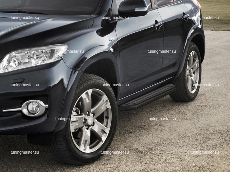 Пороги Toyota RAV4 (Black)