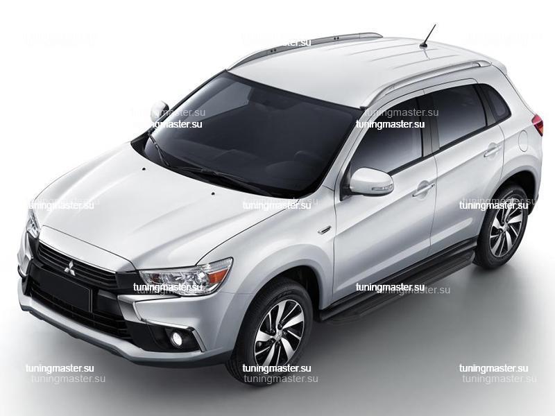 Пороги Mitsubishi ASX (Black)